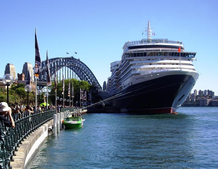 Queen Victoria at Circular Quay