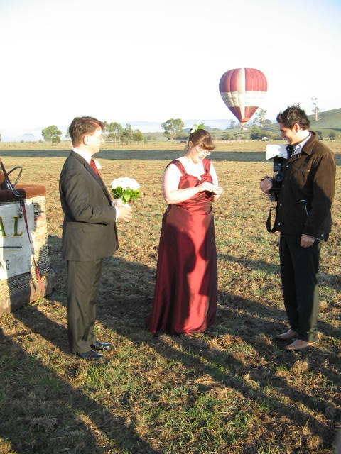 The Wedding Balloon is Back on the Ground